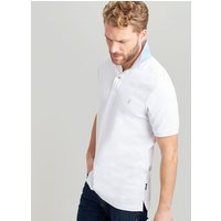 WHITE Woody slim Fit Polo  Size XXL