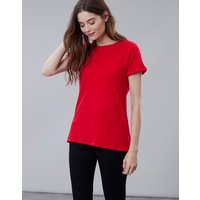 Red Nessa Lightweight Jersey T-Shirt  Size 18