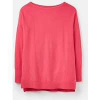 Raspberry 207524 Basic Boat Neck Sweater With Ribbed Cuff  Size 10