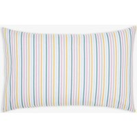 Multi Stripe Swanton Floral Stripe Standard Pillowcase  Size One Size