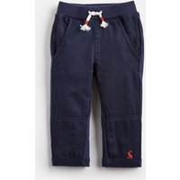 FRENCH NAVY Caro Jersey Woven Mix Trousers  Size 6m-9m