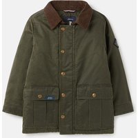 Moorwell Faux wax jacket with cord trims 3-12 years