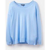 Light Blue Steel 203899 Basic Crew Neck Knitted Jumper  Size 10
