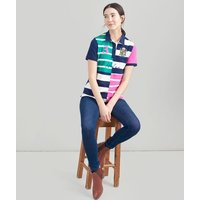 Vittoria Quartered Stripe Polo Shirt