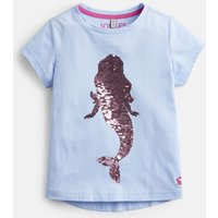 BLUE MERMAID 204616 Shine Graphic Tee  Size 7yr-8yr