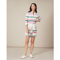 Multi Stripe Winona 3/4 Sleeve Rugby Dress  Size 18