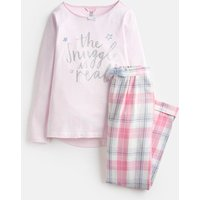 Pink Snuggle Neoma Jersey Woven Set 1-12 Years