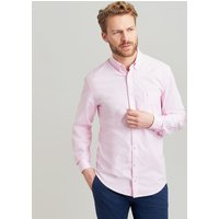 PINK OXFORD The laundered oxford classic Fit Long Sleeve Shirt  Size XL