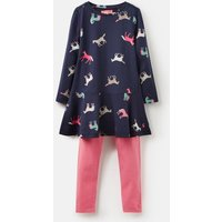 Navy Horses Iona Tunic And Legging Set 1-6 Years  Size 2Yr