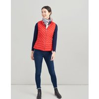 RED Brindley Chevron Quilted Gilet  Size 8