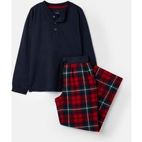 Red Check Settledown Jersey Woven Set 1-12 Years  Size 6Yr