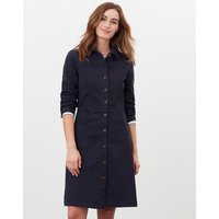 Wilmer Denim Jersey Dress
