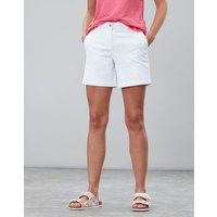 Bright White Cruise Mid Thigh Length Chino Shorts  Size 14