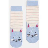 Cat 204782 Girls' Character Socks  Size Size 13-3