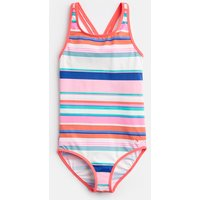 Pink Multi Stripe Briony Cross Back Swimsuit 1-12 Yr  Size 4Yr
