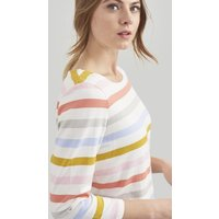 MULTI STRIPE Harbour Jersey Top  Size 14