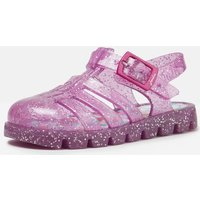 Truly Pink Juju Jelly Shoe Sandals  Size Baby 5