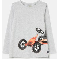 Action Slim Fit Long Sleeve T-Shirt 1-12 Years