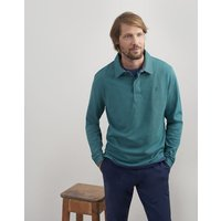 TEAL Ruckbury Long Sleeve Plain  Rugby Shirt  Size M