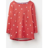 205893 3/4 Length Sleeve Jersey Printed Top