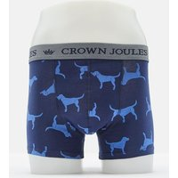 Navy Dogs Crown Joules Single Pack Underwear  Size L
