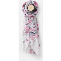 CREME GARDEN DITSY 204149 Longline Woven Scarf  Size One Size