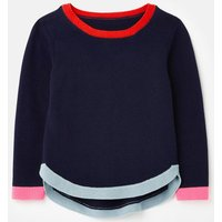 Isabella Curved Hem Jumper 3-12 Years