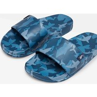 Blue Shark Camo Jnr Poolside Pvc Sliders  Size Childrens 11