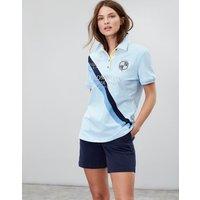 Blue Official Badminton Polo Shirt  Size 12