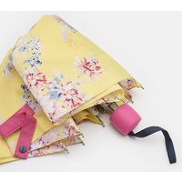 LEMON WHITSTABLE FLORAL 206915 Joules By Fulton Minilite Brolly