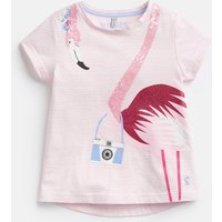 Flamingo 204616 Shine Graphic Tee  Size 6Yr