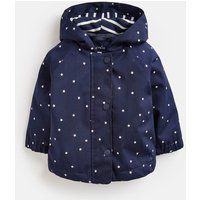 Navy Star Coast Raincoat  Size 3M-6M