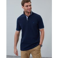 French Navy Hanfield Polo Shirt  Size S