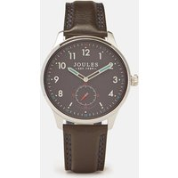 Harrow Black Harrow Black Mens Leather Strap Watch  Size One Size