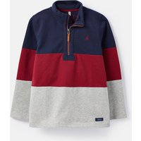 Navy Red Grey Dale Sweatshirt 1-12 Years  Size 3Yr