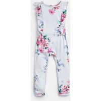 Sky Blue Stripe Floral Rosalie Jersey Printed Jumpsuit 1-6 Yr  Size 4Yr