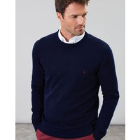 French Navy Jarvis Cotton Crew Neck Jumper  Size M