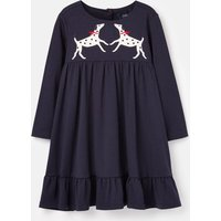 Isabel Applique Swishy Dress 1-6 Years