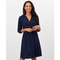 Karis Concealed Placket Shirt Dress