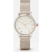 Silver Hartley Silver Womens Metal Strap Watch  Size One Size