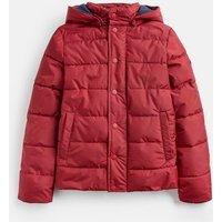 Deep Red Lodge Showerproof Padded Jacket 1-12 Years  Size 4Yr