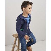 Navy Chameleon Pocket Seth Novelty Screenprint Hooded Sweatshirt 1-6Yr  Size 5Yr