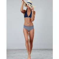 NAVY STRIPE Kendra Bikini Bottoms  Size 10