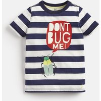 NAVY STRIPE BUG Ray Glow In The Dark T-Shirt 1-6yr  Size 3yr