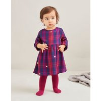 Macy Woven Dress and Tights Set 0-24 Months