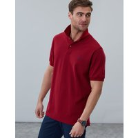 Deep Red Woody Classic Fit Polo  Size M