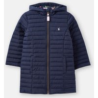 French Navy Longline Kinnaird Packable Coat 3-12 Years  Size 11Yr-12Yr