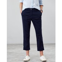 FRENCH NAVY Hesford crop Chinos  Size 12