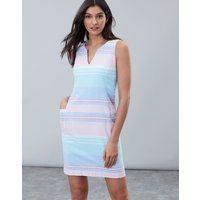 Multi Stripe Elayna Shift Dress  Size 16