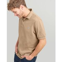 TAUPE Woody Classic Fit Polo  Size S